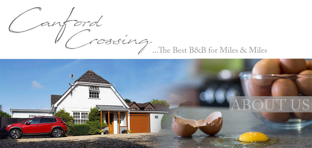 Canford Crossing B&B - ABOUT US