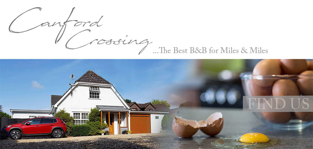 Canford Crossing B&B - FIND US